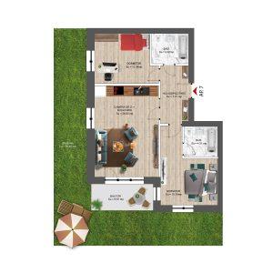 Apartament 3 camere in Constanta Nord Boreal Plus /3 room apartment in Constanta