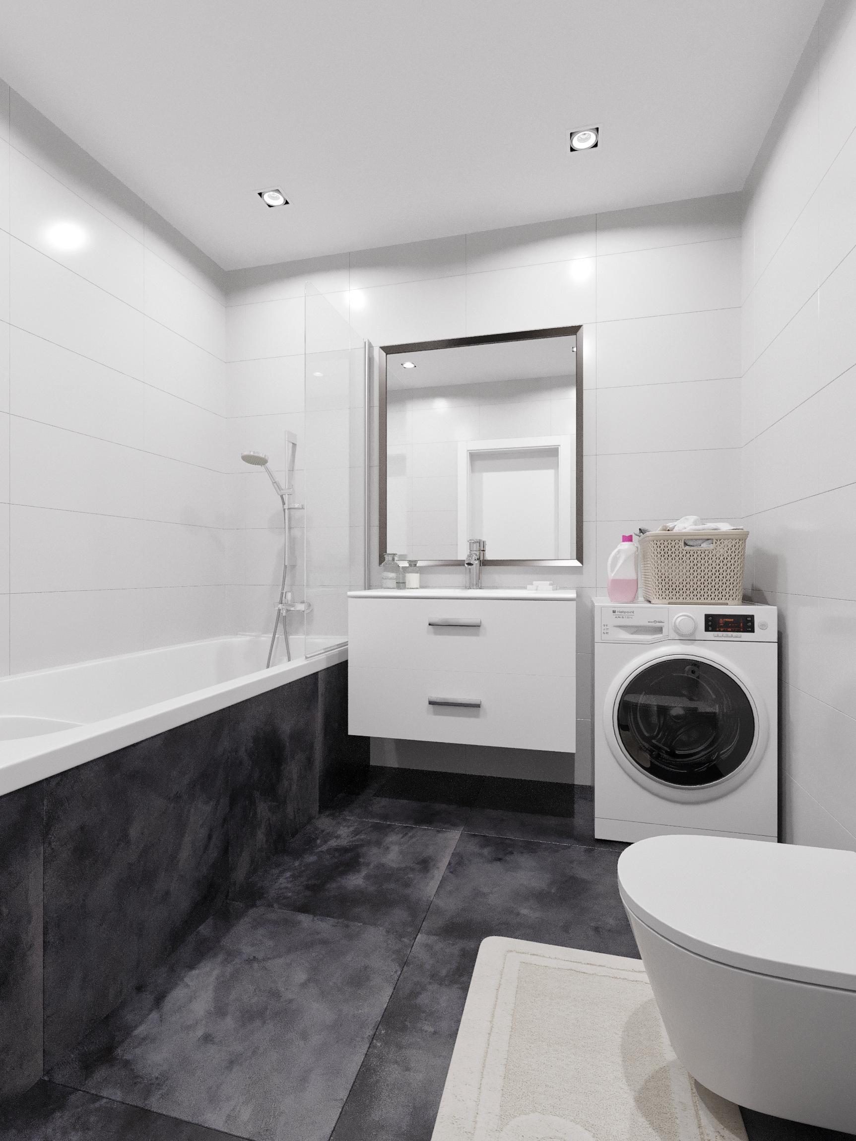 Baie - Apartament 2 camere - Boreal Plus Constanța