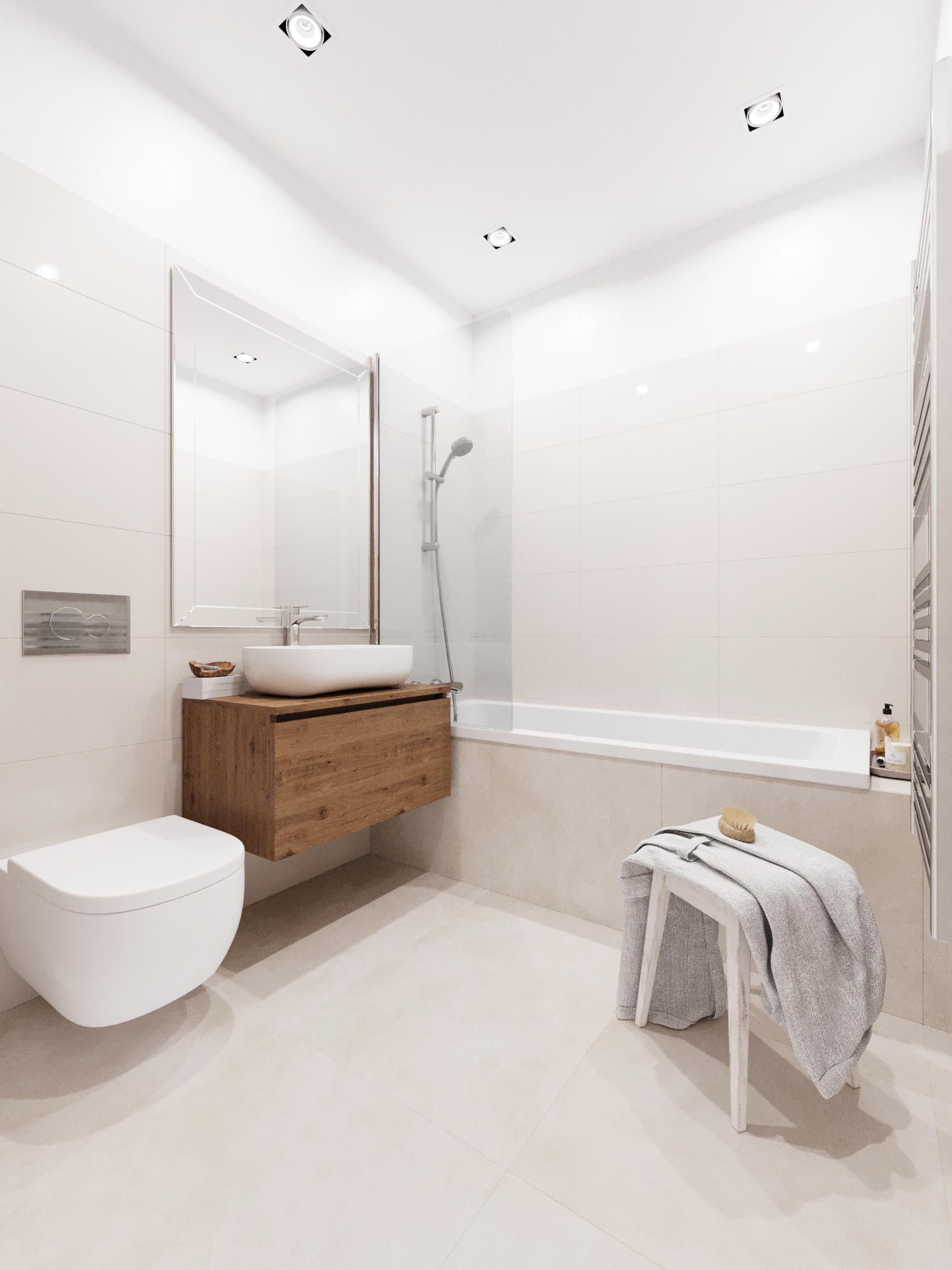 Baie - Apartament 3 camere - Boreal Plus Constanța