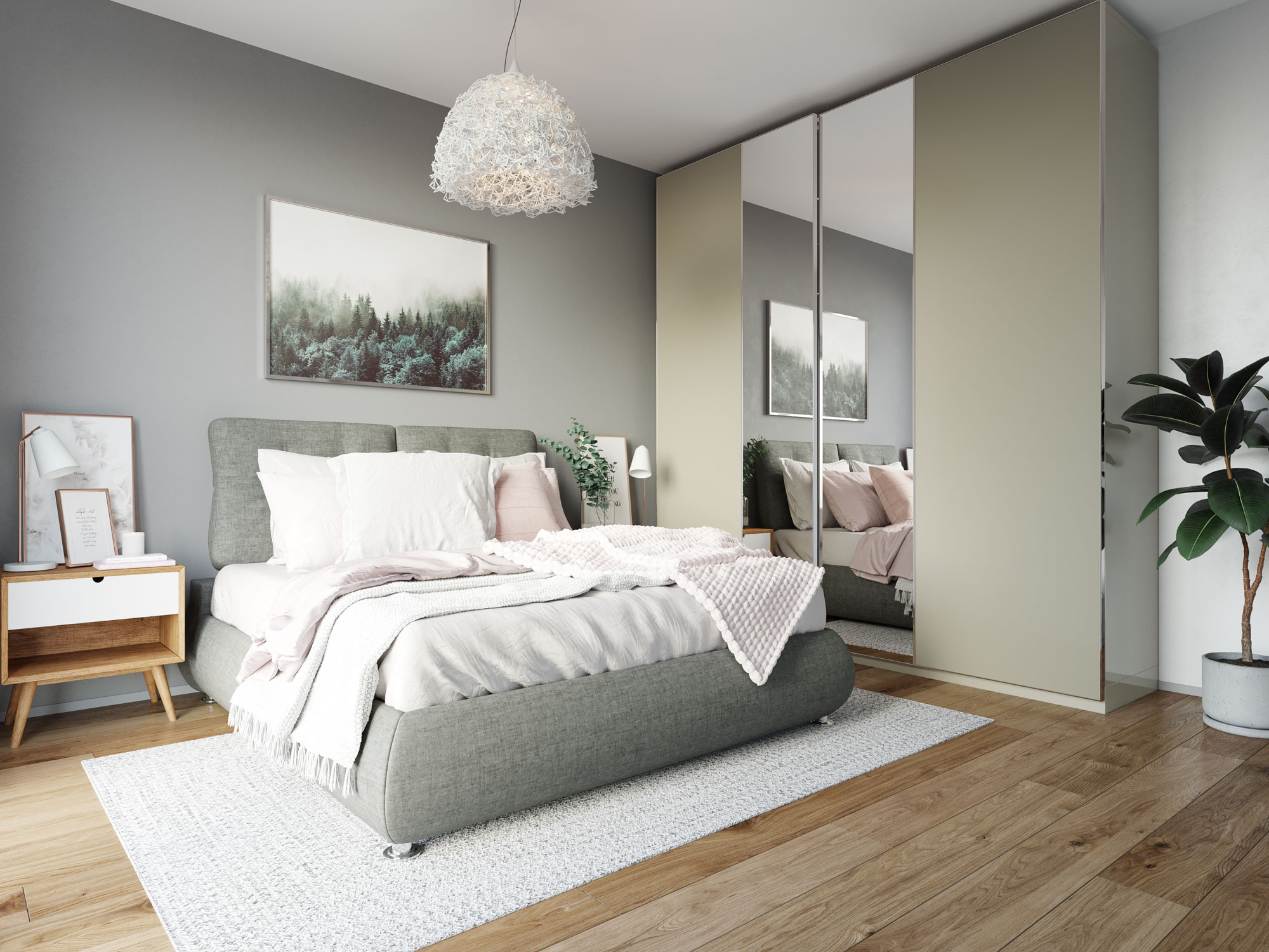 Dormitor - Vilă premium Boreal Plus Constanța