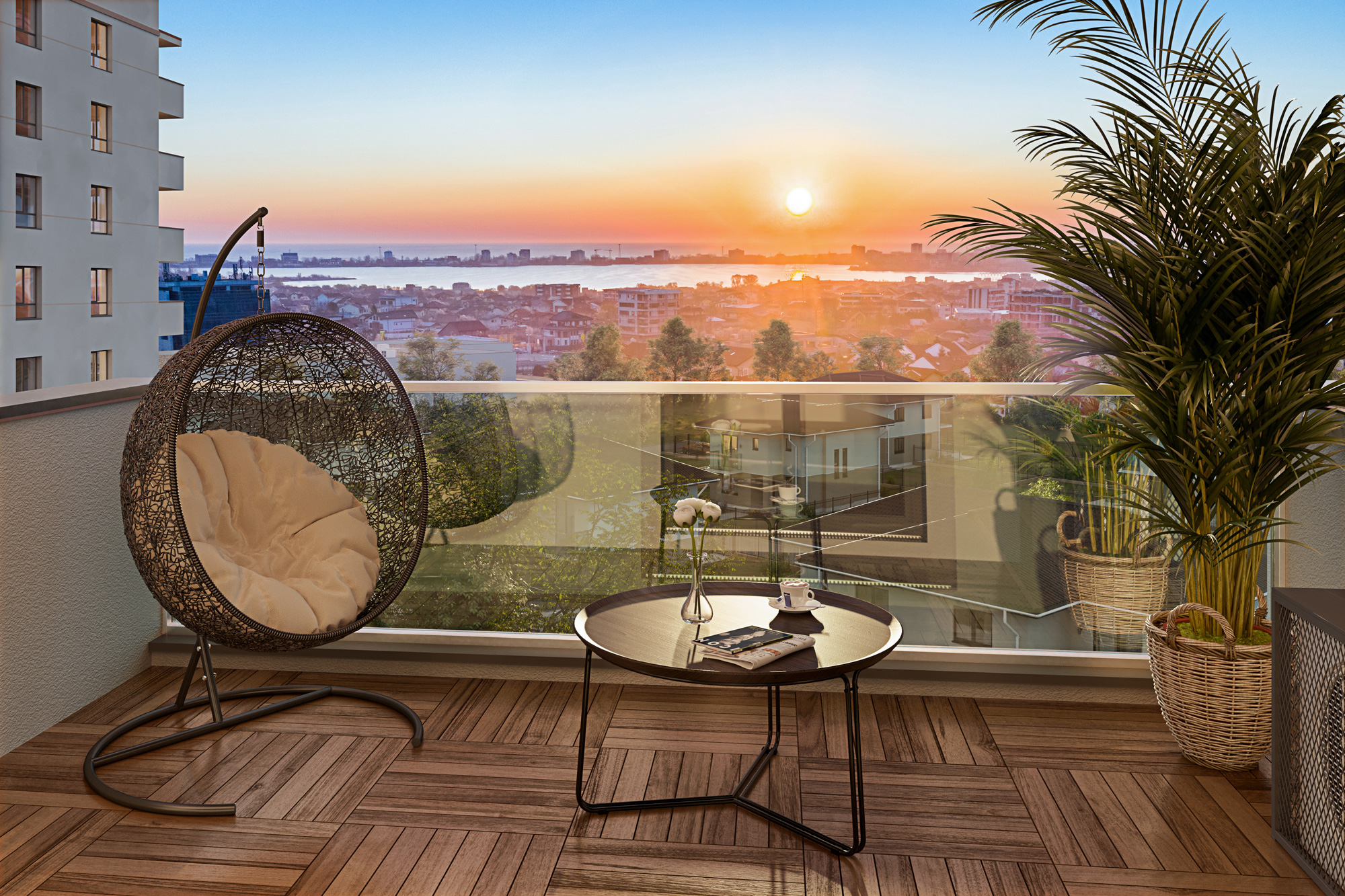 Panoramă Boreal Plus- ansamblu rezidențial Constanța (2)