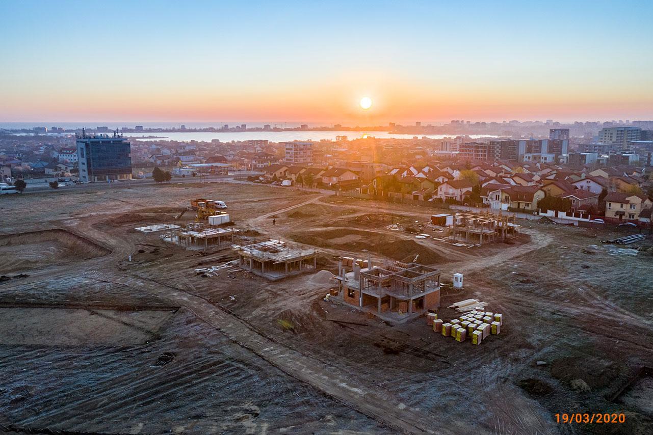 Stadiu construcție luna Martie - Boreal Plus
